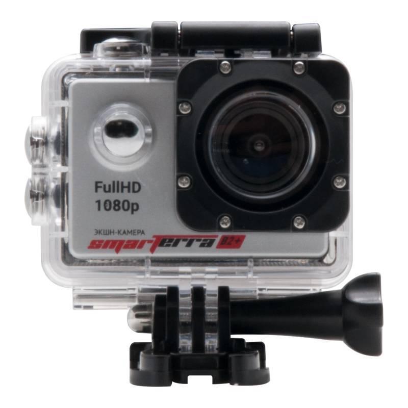 Экшн-камера Smarterra B2+ серебристый - фото 3