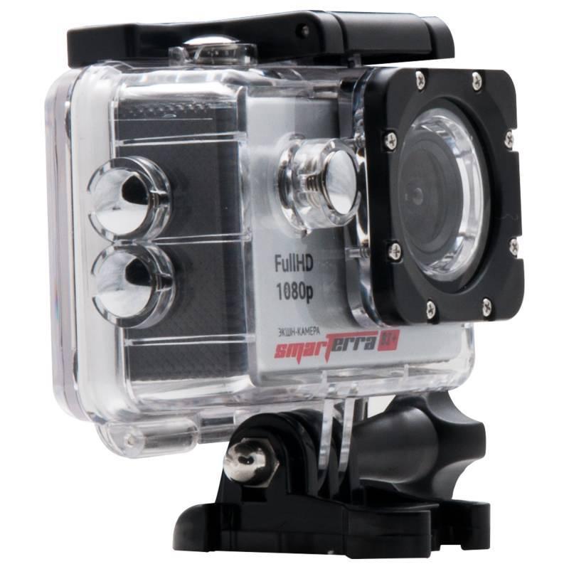 Экшн-камера Smarterra B2+ серебристый - фото 4