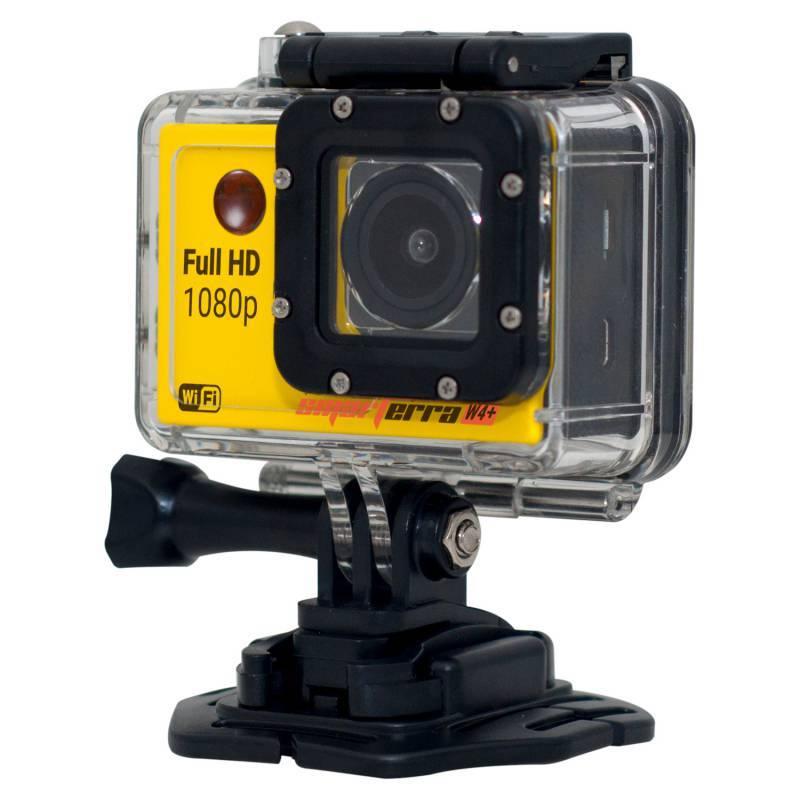 Экшн-камера Smarterra W4+ желтый - фото 1