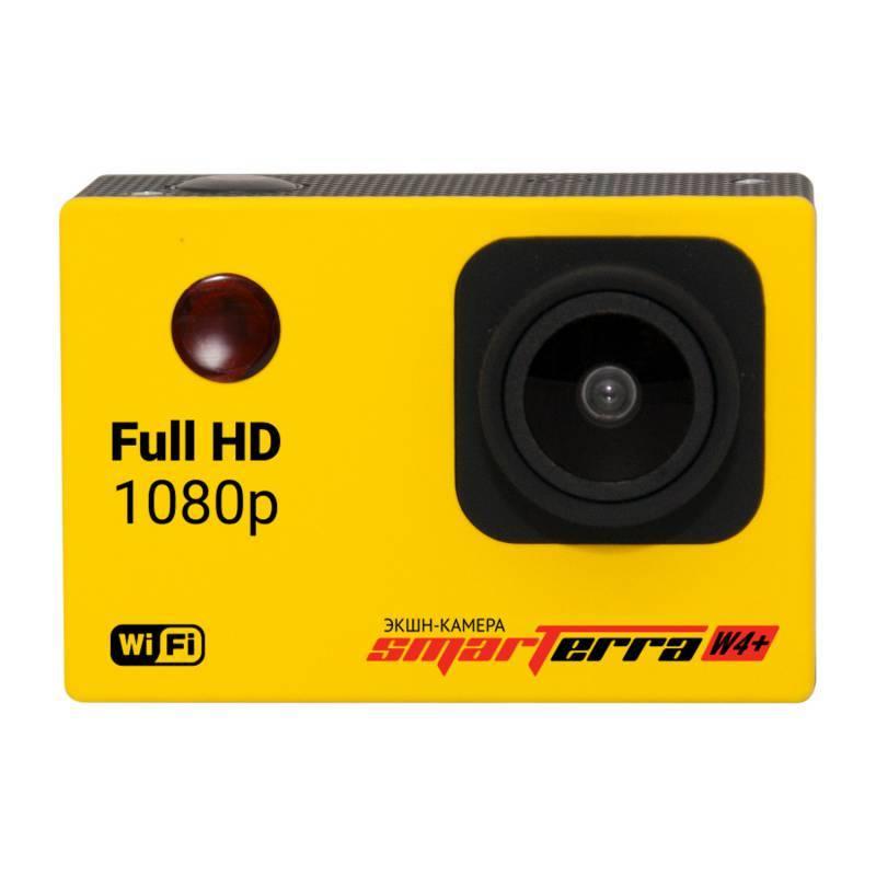 Экшн-камера Smarterra W4+ желтый - фото 3