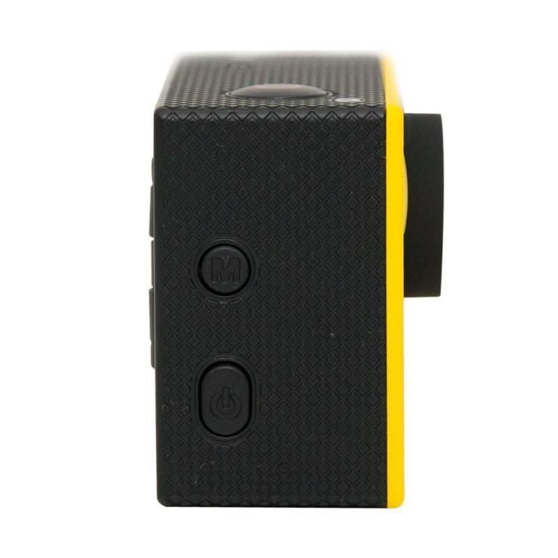 Экшн-камера Smarterra W4+ желтый - фото 5