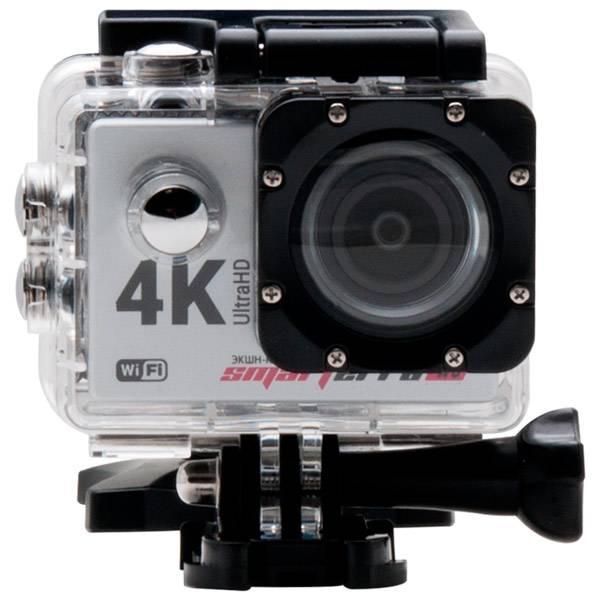Экшн-камера Smarterra W6 серебристый - фото 3