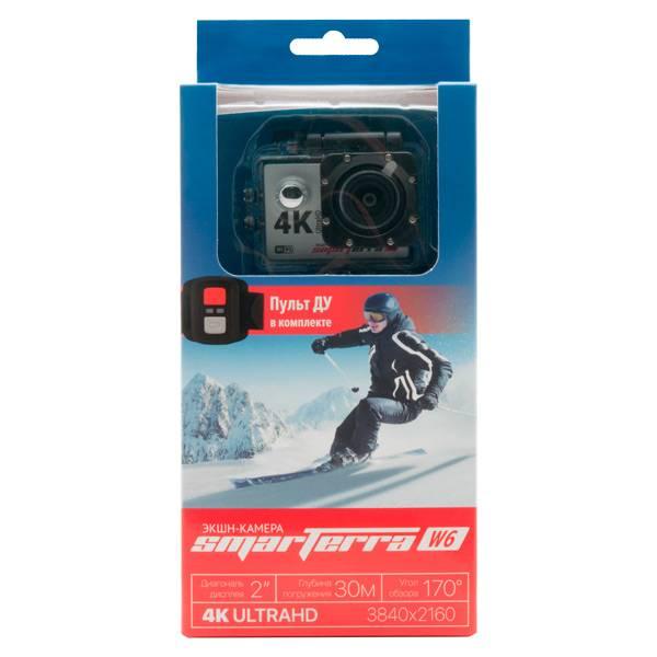 Экшн-камера Smarterra W6 серебристый - фото 5
