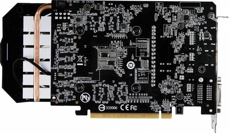 Видеокарта Gigabyte GV-N1060WF2OC-3GD-MI 3072 МБ - фото 4