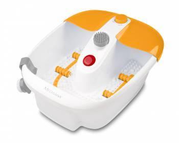 Гидромассажная ванночка для ног Medisana FS 883 серый / белый