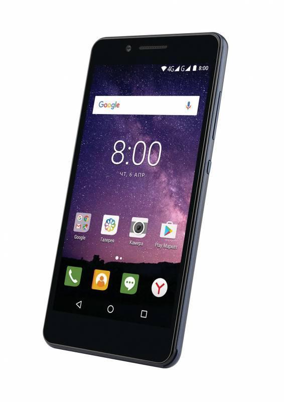 Смартфон Philips S327 8ГБ синий - фото 3