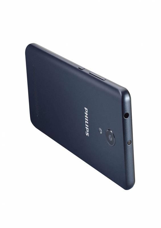 Смартфон Philips S327 8ГБ синий (867000145531) - фото 4