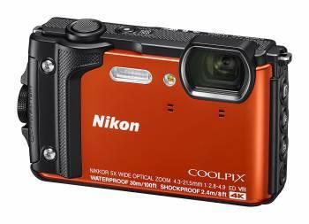 Фотоаппарат Nikon CoolPix W300 оранжевый (VQA071E1)