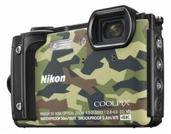 Фотоаппарат Nikon CoolPix W300 камуфляж (VQA073E1)