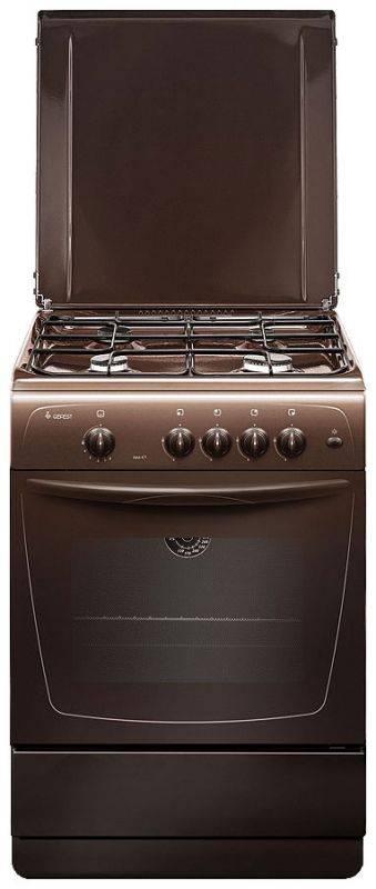 Купить Плита газовая Gefest ПГ 1200-С7 К43 коричневый, решетка сталь (489113) в интернет-магазине Позитроника по низкой цене в Москве
