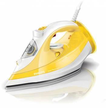 Утюг Philips GC3801 / 60 желтый / белый