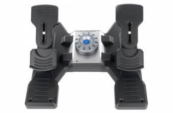 Геймпад Logitech G Saitek PRO Flight Rudder Pedals черный (945-000005)