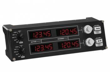 Геймпад Logitech G Saitek Pro Flight Radio Panel черный (945-000011)