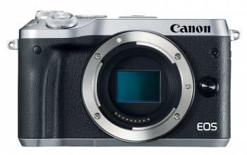 Фотоаппарат Canon EOS M6 body черный/серебристый (1725C002)