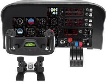 Геймпад Logitech G Saitek Pro Flight Instrument Panel черный (945-000008)