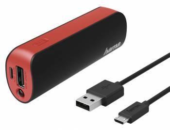 Мобильный аккумулятор HAMA H-173224 черный