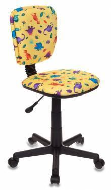 Кресло детское Бюрократ CH-204NX / DINO-Y желтый