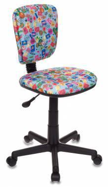 Кресло детское Бюрократ CH-204NX / MARK-LB голубой