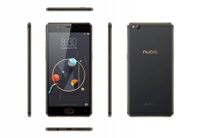 Смартфон Nubia M2 Lite 32ГБ черный - фото 2