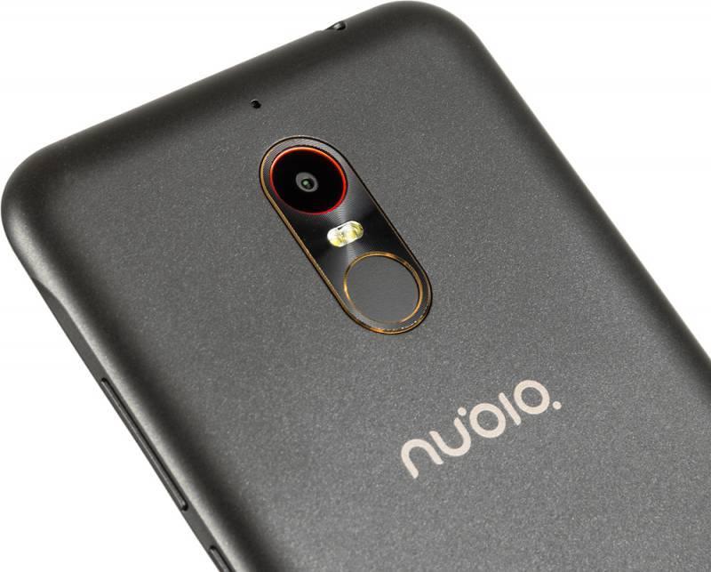 Смартфон Nubia N1 Lite 16ГБ черный/золотистый - фото 6