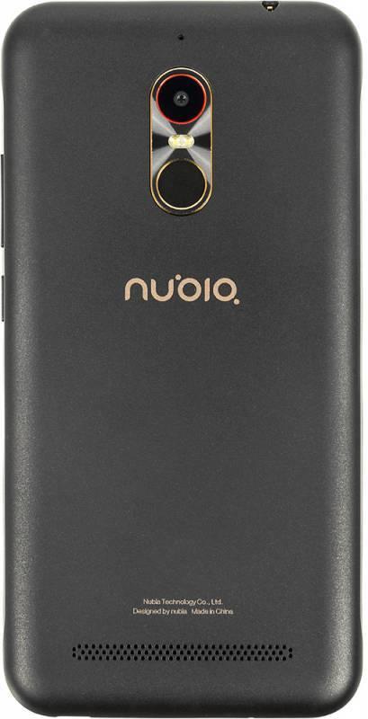 Смартфон Nubia N1 Lite 16ГБ черный/золотистый - фото 2