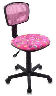 Кресло детское Бюрократ CH-299 / PK / FLIPFLOP_P розовый