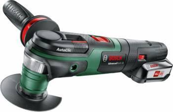 Многофункциональный инструмент Bosch AdvancedMulti 18 зеленый / черный