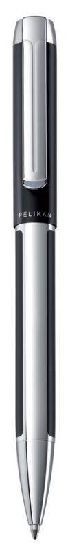 Ручка шариковая Pelikan Elegance Pura K40 черный/серебристый (PL905950) - фото 1