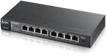 Коммутатор неуправляемый Zyxel GS1100-8HP (GS1100-8HP-EU0101F)