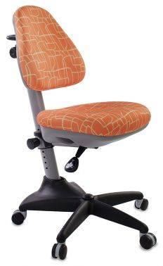 Кресло детское Бюрократ KD-2 оранжевый (kd-2/g/giraffe)