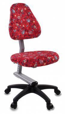 Кресло детское Бюрократ KD-8 / ANCHOR-RD красный