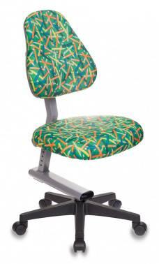 Кресло детское Бюрократ KD-8 / PENCIL-GN зеленый