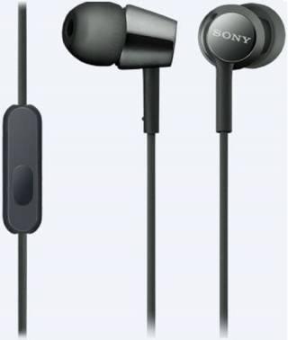 Гарнитура Sony MDR-EX155AP черный (MDREX155APB.E)
