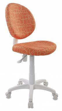 Кресло детское Бюрократ KD-W6 оранжевый (KD-W6/GIRAFFE)