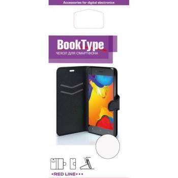 Чехол Redline Book Type, для Huawei Honor 8, черный (УТ000009592)