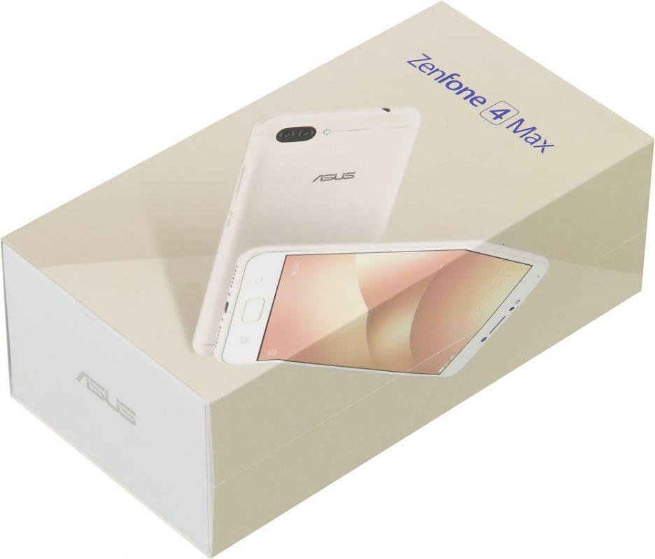 Смартфон Asus ZenFone Max ZF4 ZC520KL 16ГБ золотистый - фото 13