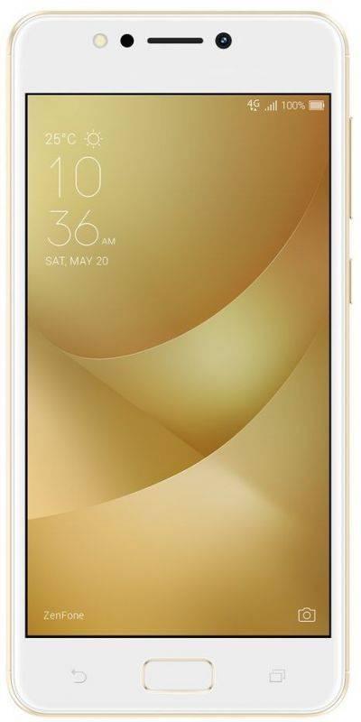 Смартфон Asus ZenFone Max ZF4 ZC520KL 16ГБ золотистый (90AX00H2-M00390) - фото 1