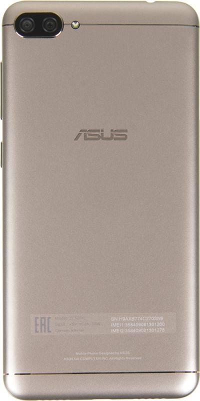 Смартфон Asus ZenFone Max ZF4 ZC520KL 16ГБ золотистый - фото 4