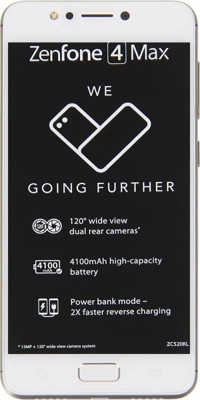 Смартфон Asus ZenFone Max ZF4 ZC520KL 16ГБ золотистый (90AX00H2-M00390) - фото 6