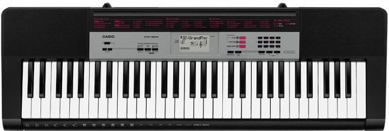 Синтезатор Casio CTK-1500 черный - фото 1