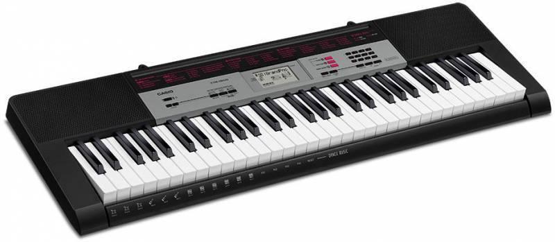 Синтезатор Casio CTK-1500 черный - фото 3