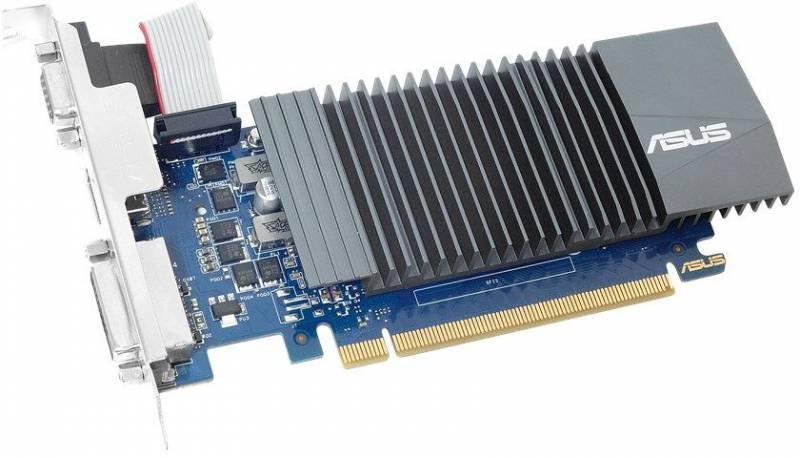 Видеокарта Asus GeForce GT 710 2048 МБ (GT710-SL-2GD5) - фото 2