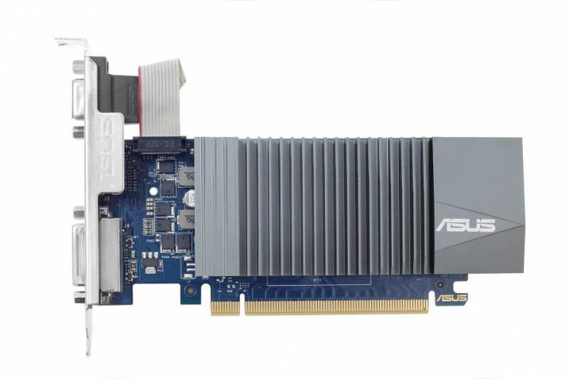 Видеокарта Asus GeForce GT 710 2048 МБ (GT710-SL-2GD5-BRK) - фото 1