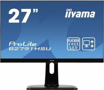 """Монитор 27"""" Iiyama ProLite B2791HSU-B1 черный"""