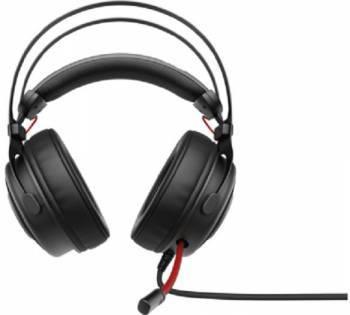 Наушники с микрофоном HP OMEN 800 черный/красный (1KF76AA)
