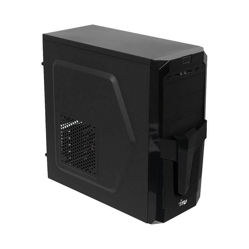Системный блок IRU Home 310 черный (491769) - фото 1