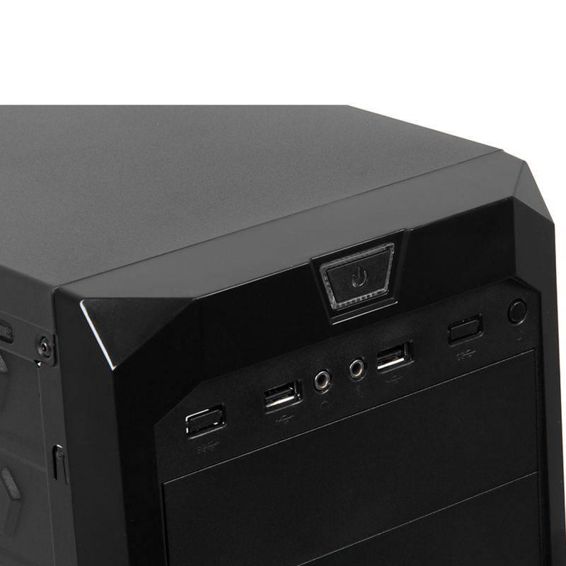 Системный блок IRU Home 310 черный (491769) - фото 3