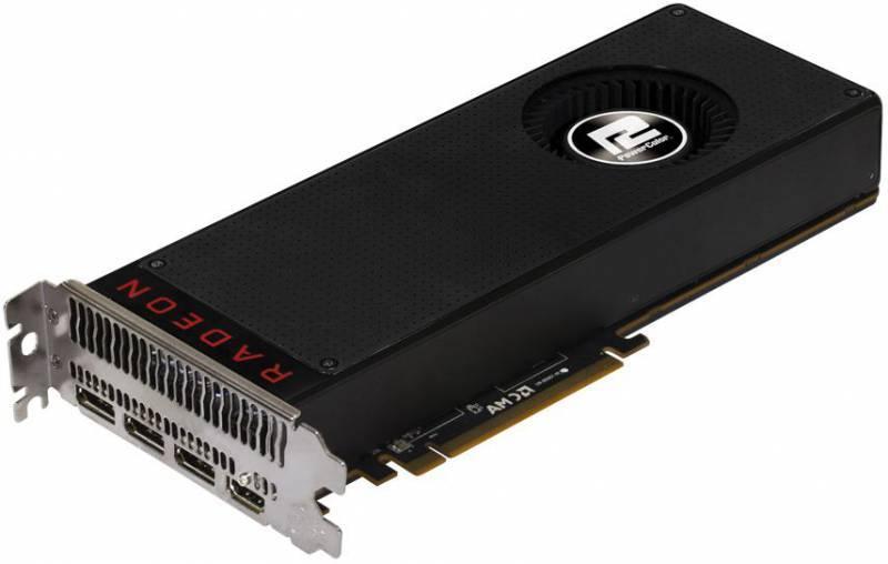 Видеокарта PowerColor AXRX VEGA 64 8GBHBM2-3DH 8192 МБ - фото 1