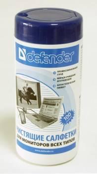 Салфетки Defender CLN30102
