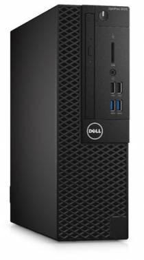 Системный блок Dell Optiplex 3050 черный / серебристый